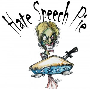 hate speech pie